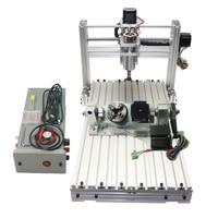 Mini Desktop CNC Machine 3060 Diy CNC Router 400w 5 Axis Wood PCB Milling Machine
