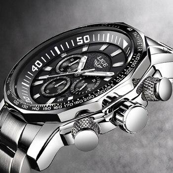 Relogio Masculino Heren Horloges LUIK Top Merk Luxe Zakelijke Quartz Klok Mannen Grote Mode dial Waterdicht Militaire Sport Horloge