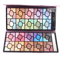 100 cores brilho sombra paleta de maquiagem profissional paleta da sombra frete grátis
