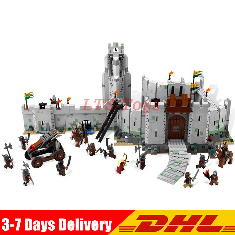 Lepin 16013 The Lord of the Rings Series The Battle Of Helm' Deep Model Building Blocks Bricks Toys Compatible Legoed 9474 все цены