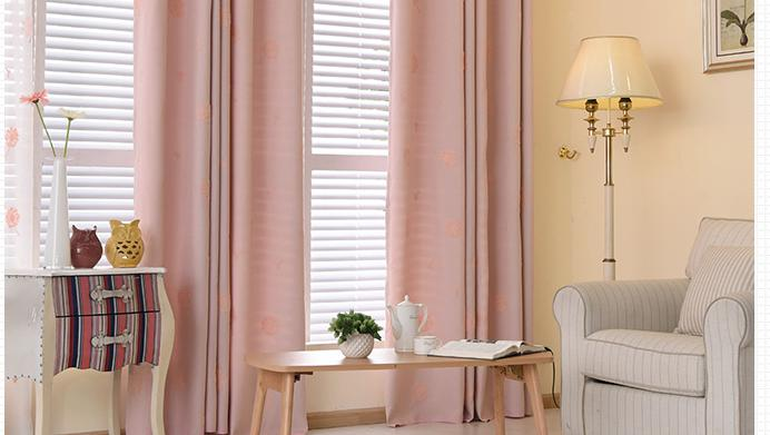 New Arrival Embroidery Dandelion Curtains Living Room Bedroom Window ...