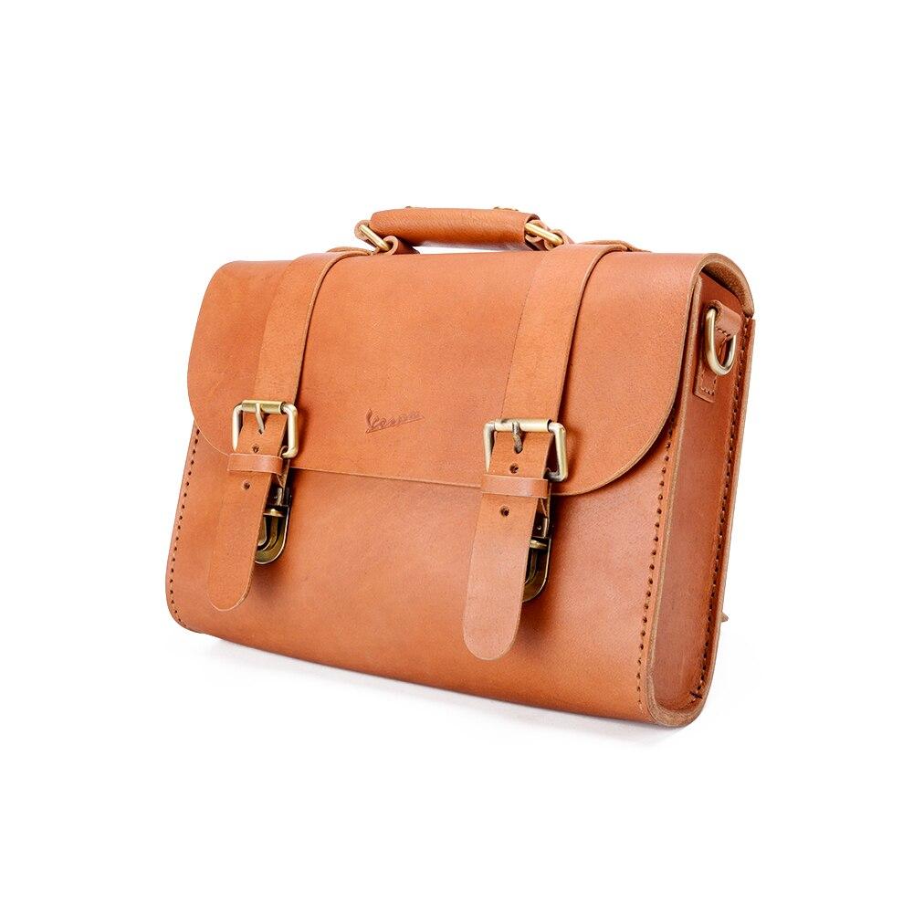 Cuir raffiné artisanat capote boîte de rangement sac pour Piaggio Vespa LXV GTV GTS PX GTS LX Primavera