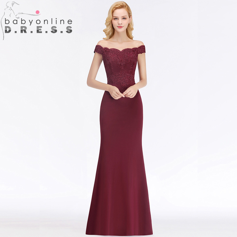 34 Colors Custom Make Mermaid Lace Bridesmaid Dresses  Sexy Wedding Guest Dress With Train Robe Demoiselle D'honneur