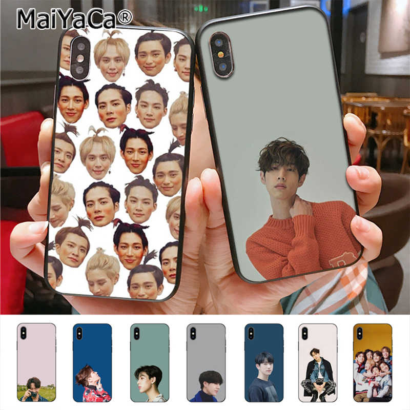 MaiYaCa HIPHOP combination GOT7 phone Case  for iphone 11 Pro 8 7 6 6S Plus X 5 5S SE cass
