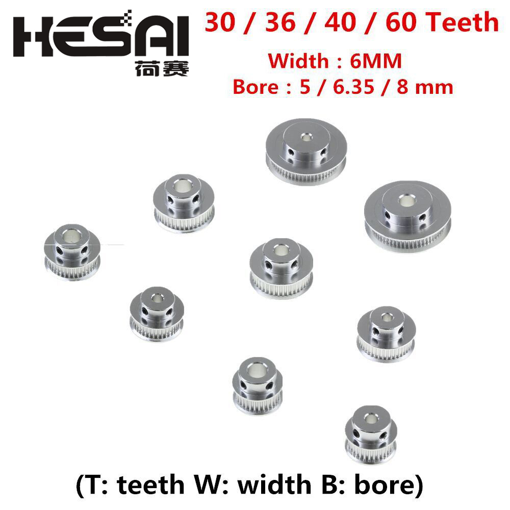 """NEW 35 TOOTH TIMING DRIVE PULLEY w//o BEARING 1/"""" BORE SHAFT ALUMINUM"""