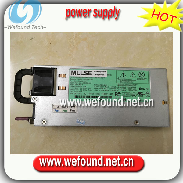 100% working power supply For DL580 G7 HSTNS-PL11 490594-001 438203-001 498152-001 1200w power supply ,Fully tested. стоимость