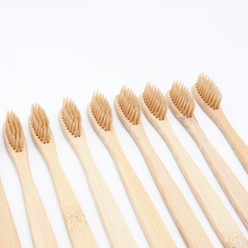 10 Pieces/lot Bamboo Toothbrush Soft Eco Friendly Wooden Toothbrush Cleaning Oral Care Soft Bristle 1