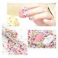 3 мм 10 г/пакет 50 г/пакет, смешивать Цвета пятиконечная звезда Точка формы Блеск для ногтей, ногтей гелем, DIY принадлежности