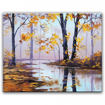 DONGMEI OILPAINTING Hand painted oil painting Home decoration painting high quality modern art landscape painting   WX15042205