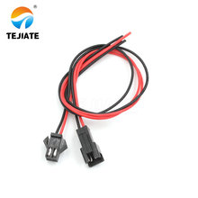 10Pairs 20-25cm Long JST SM 2Pins Plug Male to Female Wire Connector цена и фото