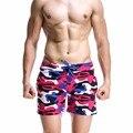 Горячий продавать марка SEOBEAN 2016 новый мужчины камуфляж шорты хлопок дышащая комфортно человек проверяется отдыха мужские мути шорты
