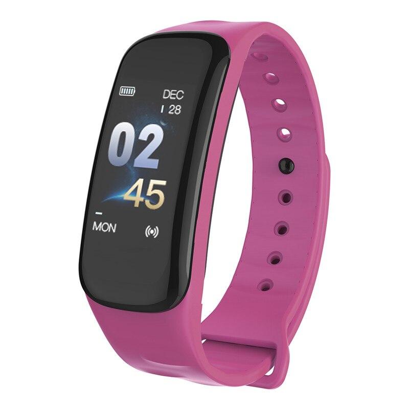 Mdnen Vrouwen En Mannen Smart Horloge Sport Fitness Activiteit Hartslag Tracker Bloeddruk Polsband Band Stappenteller Aantrekkelijke Ontwerpen;
