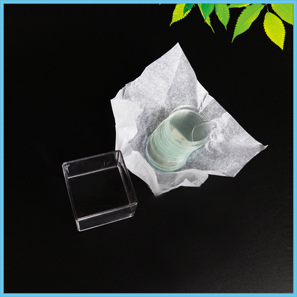 Diameter 30mm Circular Cover Slides Glass Plate Coverslips WHB Round Coverslip 100 PCS/Box image