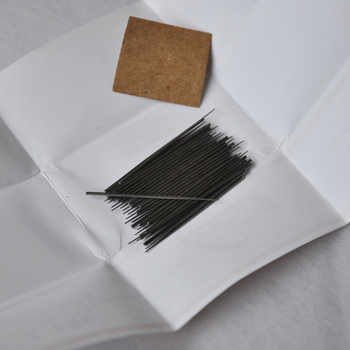 Hair Needles Weaving Ventilating Needles For Skin Machine For Hand Made Wig Lightweight Easy to Use 50pcs/bag