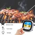 Беспроводной термометр для барбекю с шестью зондами  таймер для приготовления пищи  духовка  гриль  термометр с бесплатным приложением  кон...