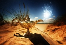 Laeacco Desert Magical Aladdin Lamp Smog Baby Child Photography Backgrounds Customized Photographic Backdrops For Photo Studio laeacco halloween moon castle witch bat smog trees photography backgrounds customized photographic backdrops for photo studio