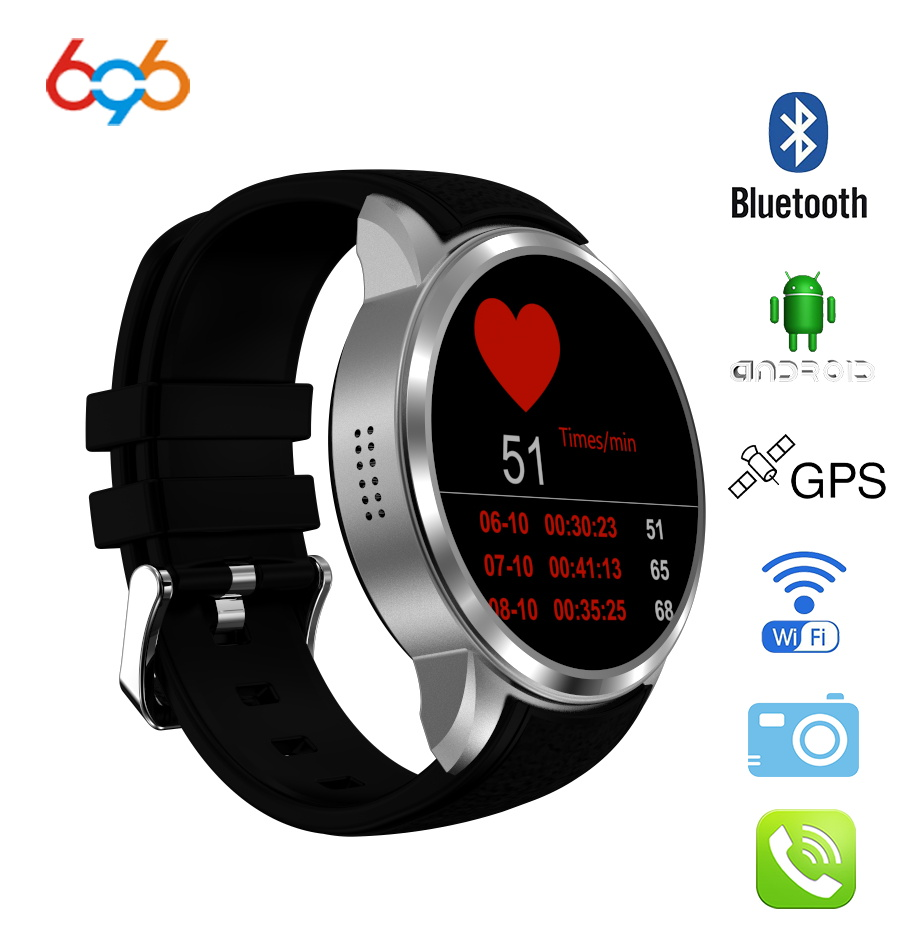 696 Top Sale X200 air Smart Watch Android 5.1 MTK6580 Ram 1GB/Rom 16GB AMOLED Watch with GPS 3G BT Phonewatch BT music pk kw88