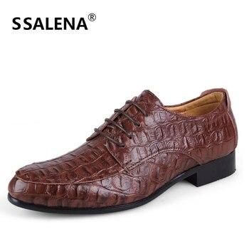 Primavera otoño hombres Formal zapatos de boda, zapatos de lujo de los hombres de negocios Zapatos de vestir de los hombres mocasines zapatos puntiagudos Plus tamaño 36-49 # D092