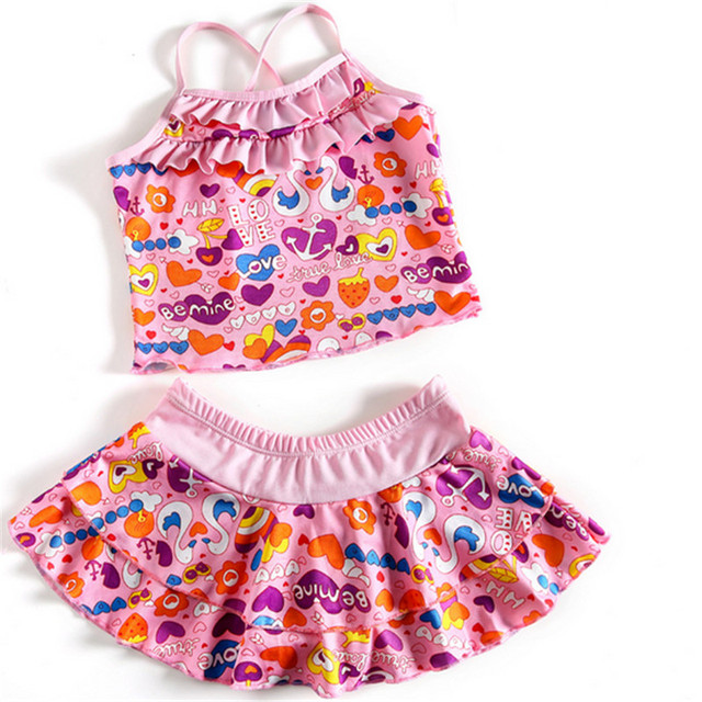 bc1ca425d if dream peach 1 set kids swimwear girlschild swimsuit children ...