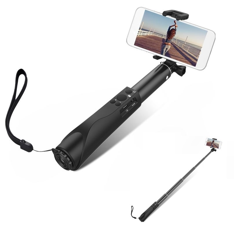 High Quality GDLYL Bluetooth Selfi Extendable Bluetooth Selfie Stick Monopod Universal Selfie Stick For Xiaomi For iPhone