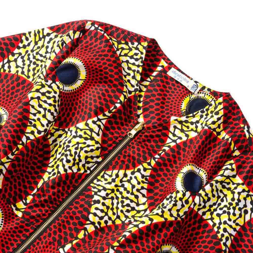 Vestiti africani Donne Camicette a vita alta top Africano giacca Vestiti Della Stampa Della Signora di modo africano Ankara