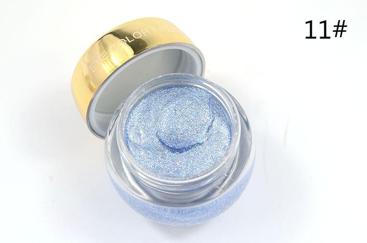 Love Alpha Eyes Makeup Nude Eyeshadow 16 Color Single EyeShadow Shining Bright Brand Makeup Liquid Eye Shadow Gel Glitter Makeup (18)