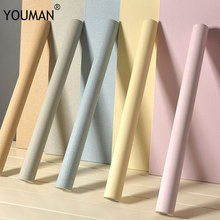 Wallpapers YOUMAN Self-adhesive Wallpaper Backdrop Dormitory Bedroom PVC Furniture Stickers Home Decor Wall Sticker Store Decal