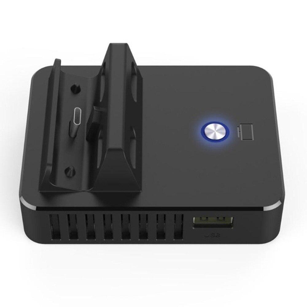 Pour interrupteur de Base de station d'accueil TV Type C sortie support de charge interrupteur de refroidissement support Portable adaptateur d'affichage à un bouton