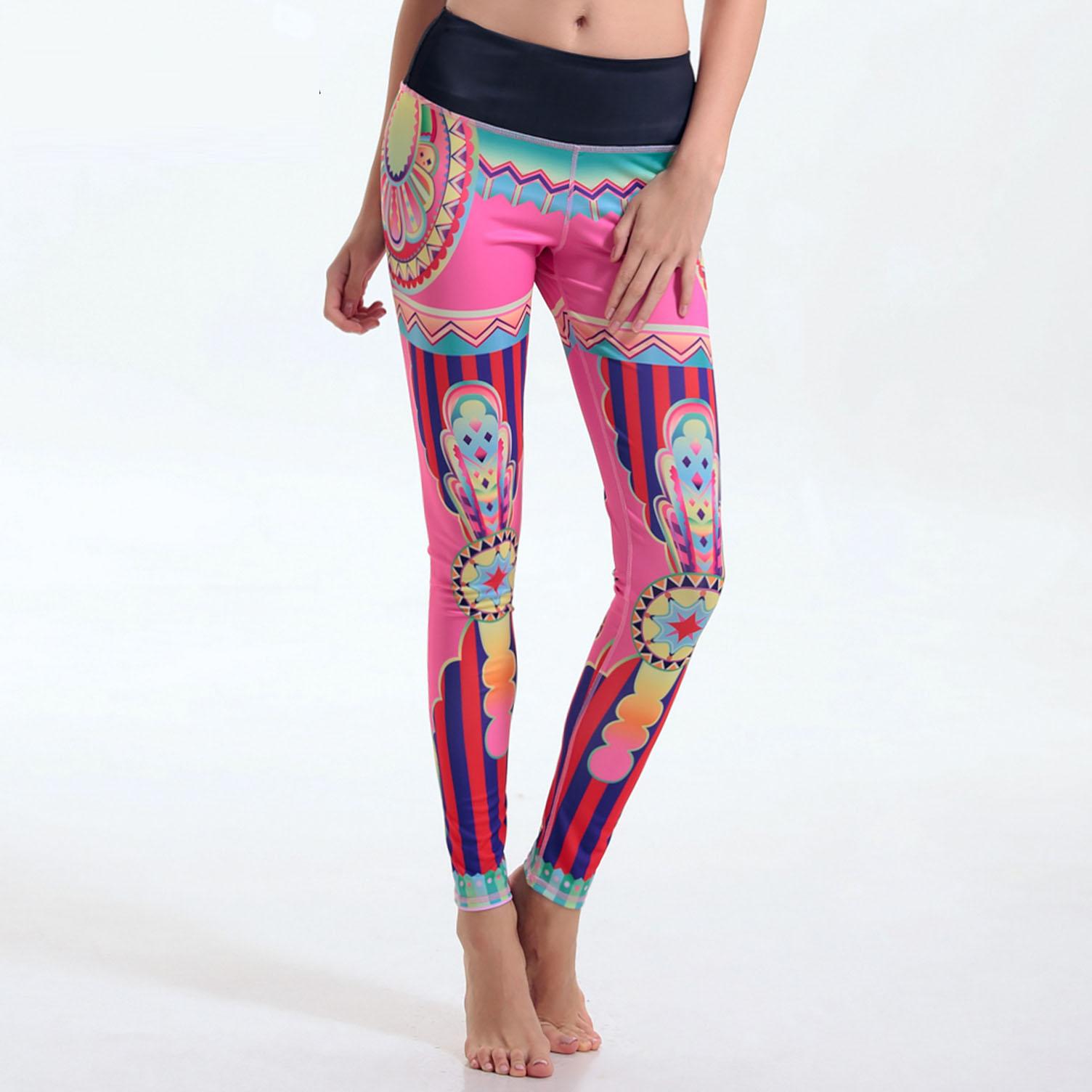 Achetez en gros yoga pantalon motif en ligne des for Haute 8 yoga