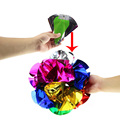 Large Size Appearing Ball Flower Magic Spring Flower Bouquet Magic Tricks Props Close Up Street Magic Tricks Novelty Party Toys