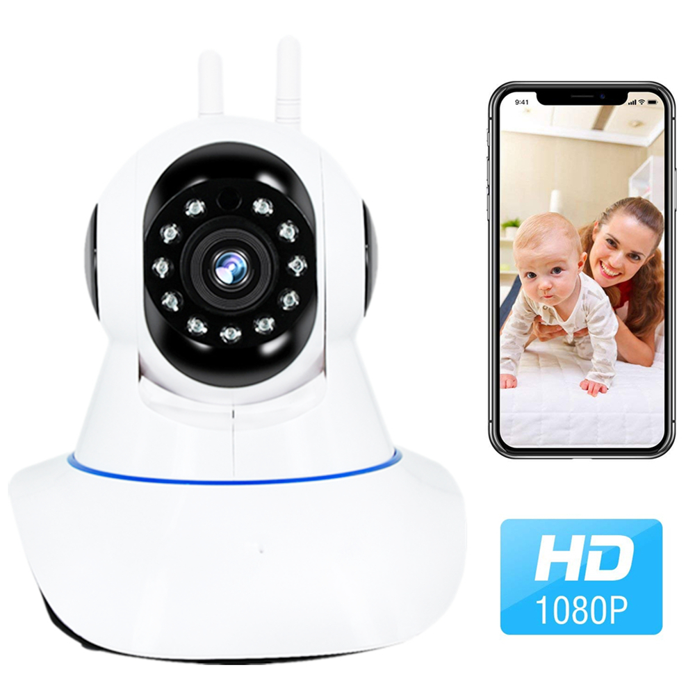Wireless Security WIFI Camera Indoor 1080P 2.0MP HD IP Camera Home Surveillance With Night Vision For /Baby/Nanny/Pet Monitor fuers 4pcs 3 6mm 2mp 1080p full hd home security indoor wireless wifi surveillance ip camera baby monitor with night vision