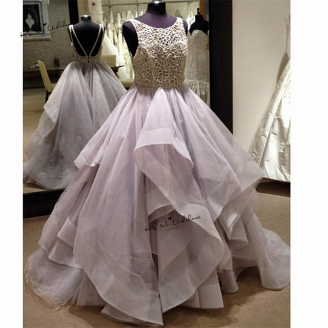 Vintage Ball Gown Prom Dresses 2017