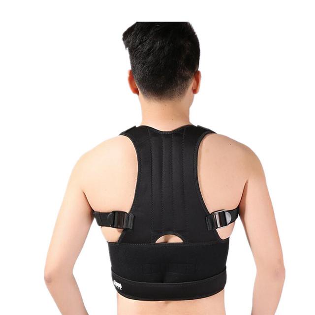 Ajustable Espalda Cinturón Brace Corrector de Postura Espalda Hombro Hombres/Mujeres JZ3