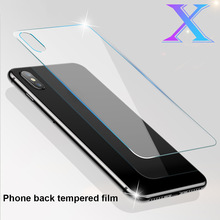 2019 Hot Back Screen Protector Film 0.3mm Full Coverage HD Clear Full Cover Tempered Glass for iPhone X 10 For DOY