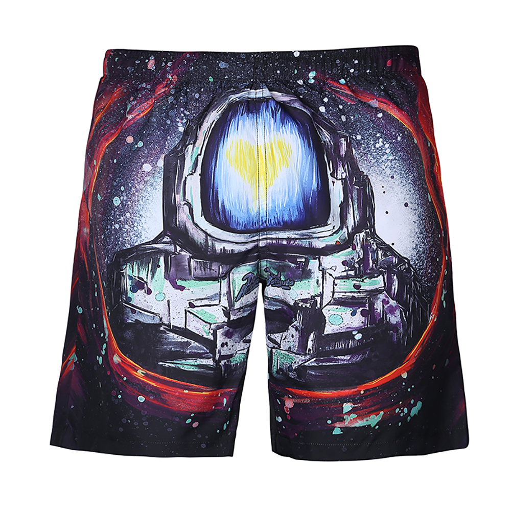 Swimwear Mens Swim   Shorts   Surf Wear   Board     Shorts   2019 Summer Swimsuit Bermuda Beach Boardshorts Trunks   Short   M-3XL Plus Size