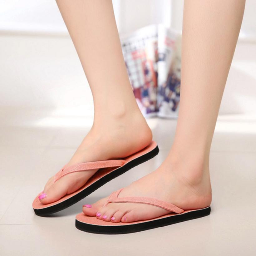 Summer Women Shoes Flip Flop Non-Slip Flat Sandals Size 36-40 Open Toe Home Indoor Outdoor Slippers Casual Straw Beach Shoes 2017 hot sale women flip flop slippers female summer indoor anti slip slippers soft lightweight shoes size 36 40 available
