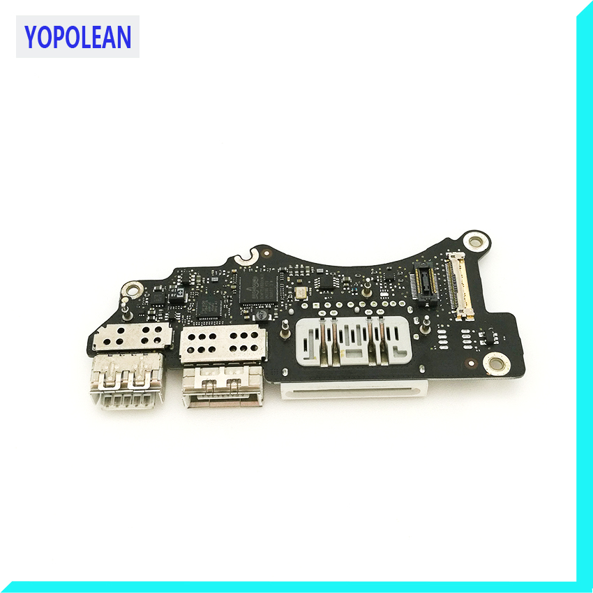 Original I/O USB HDMI SD Card Reader Board 820-3071-A For Macbook Pro Retina 15