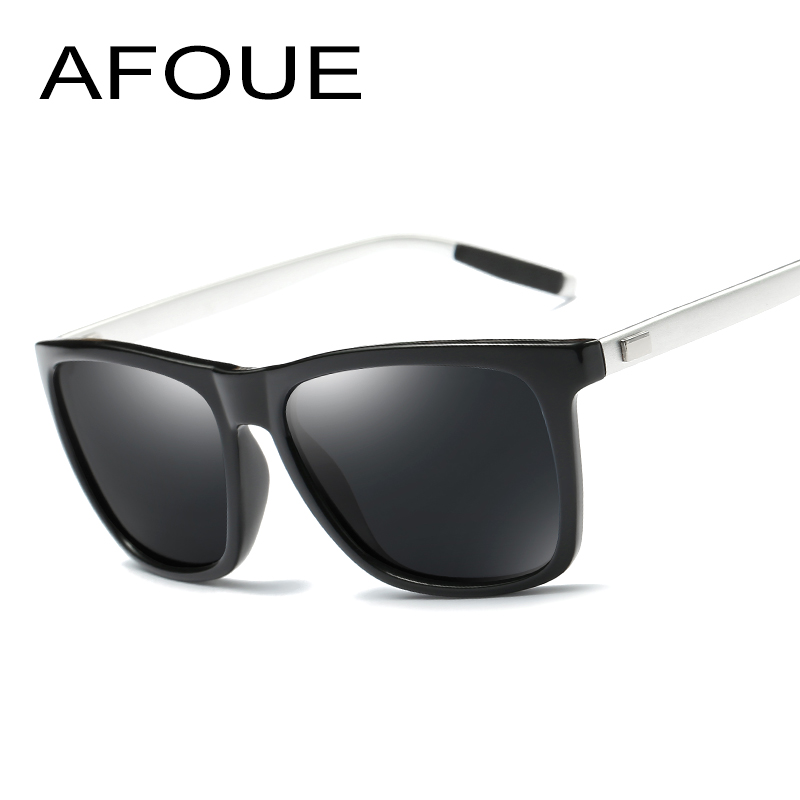 AFOUE Aluminum Polarized Brand Designer Sunglasses Men Women Sport Vintage Sun Glasses Eyewear oculos de sol masculino