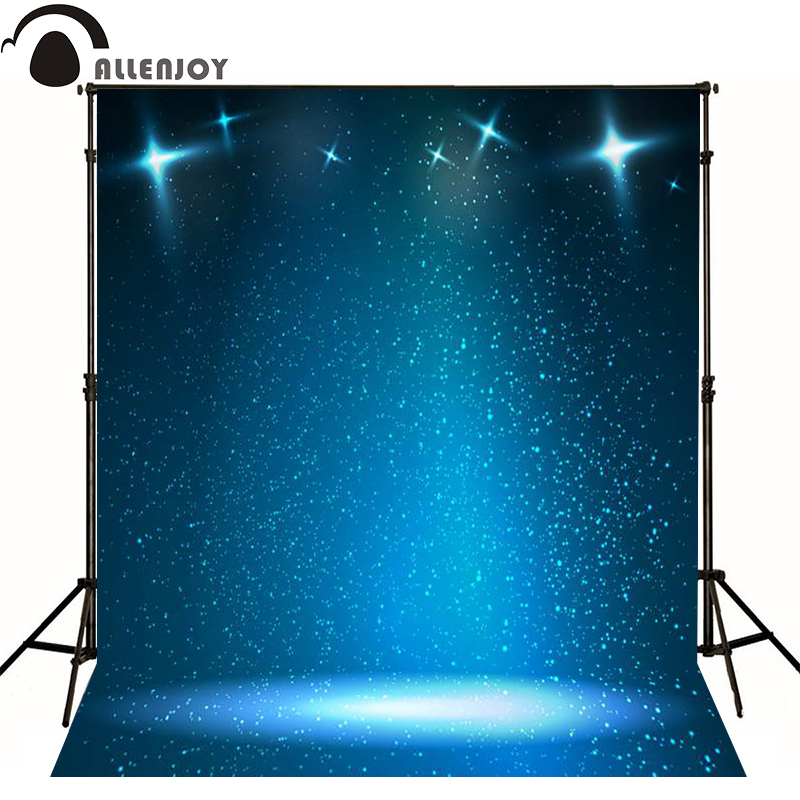 Allenjoy photographic background Stage spotlights blue sky photo backdrops for sale fabric vinyl fotografia Private party blue sky чаша северный олень