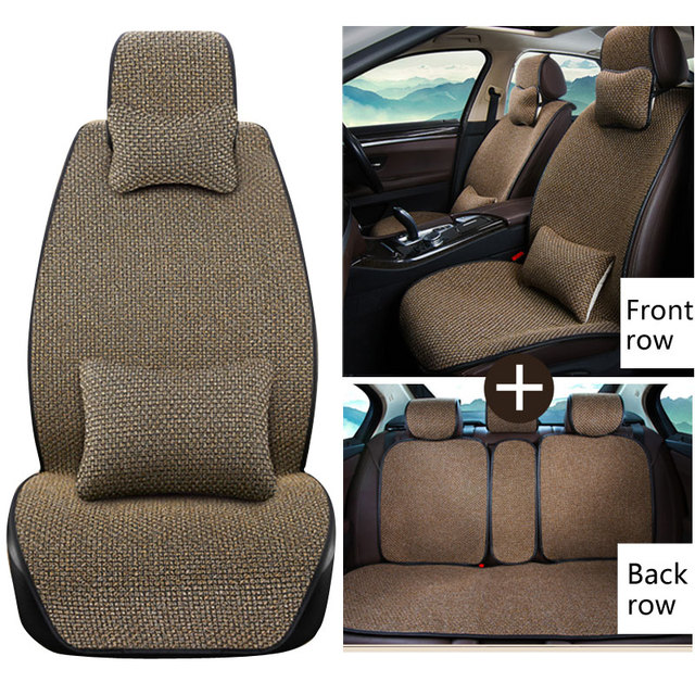Breathable Mesh car seat covers pad fit for most cars /winter cool ...