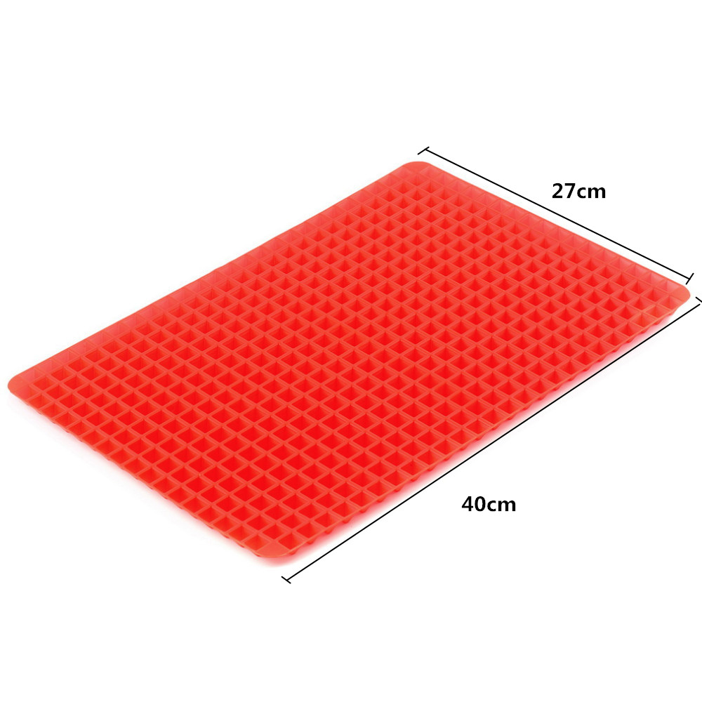 Kuća i bašta ... Kuhinja i trpezarija ... 32761162525 ... 2 ... 40x27cm Pyramid Bakeware Pan 4 color Nonstick Silicone Baking Mats Pads Moulds Cooking Mat Oven Baking Tray Sheet Kitchen Tools ...