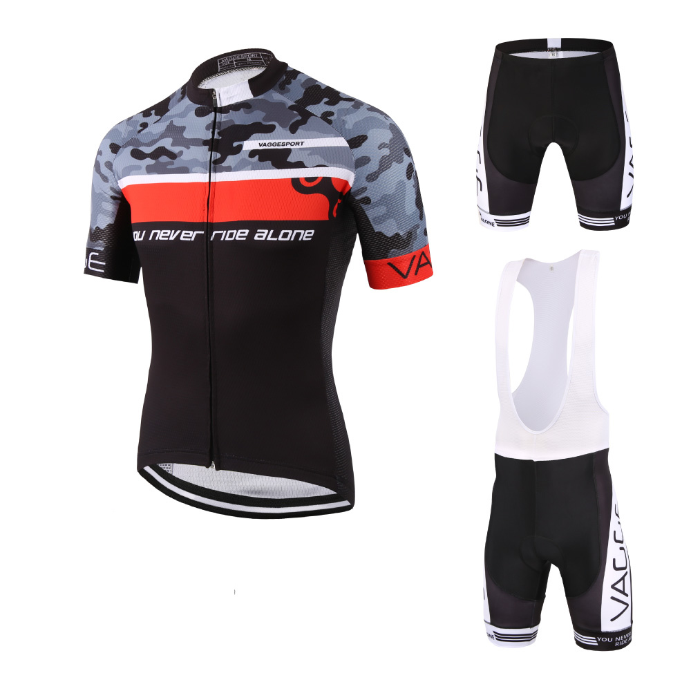 CAMO digital print red mens cycling wear/sublimation printing discount cycling shirts/brand high quality biking clothing sets