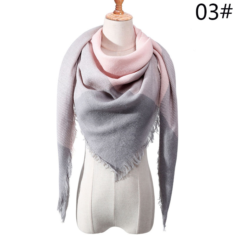 Бренд Evrfelan, шарфы, Прямая поставка, женский зимний шарф, высокое качество, плед, одеяло, шарф и шаль, большой размер, плотные шарфы, шали - Цвет: W14