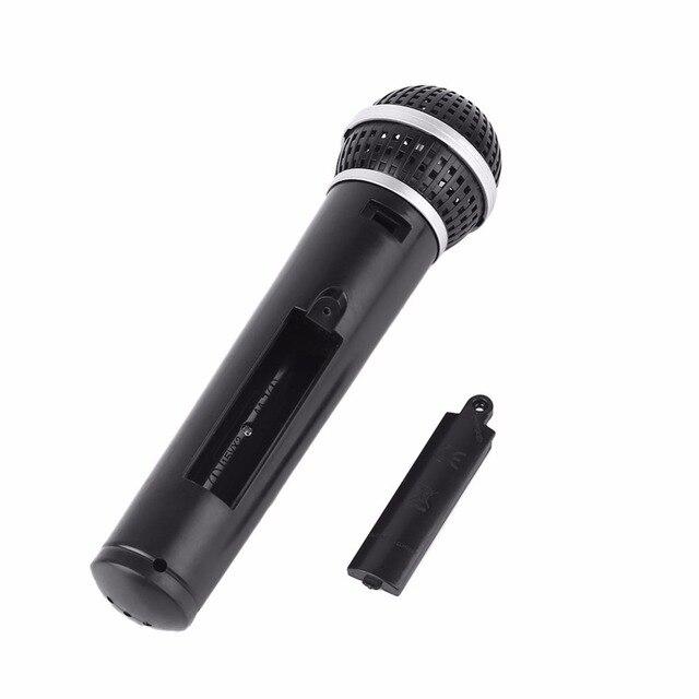 Детские микрофоны для мальчиков игрушечный микрофон для Караоке Пение ребенок Забавный подарок музыкальная игрушка детский имитационный микрофон черный
