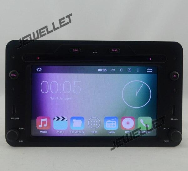 Quad core Android 8.1 voiture DVD GPS radio Navigation pour Alfa Romeo 159 Brera Spider avec 4G/Wifi DVR OBD lien miroir 1080 P
