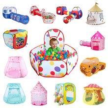 36 видов складных детских игрушек палатка для океанских шариков Детские шарики для игры, бассейн для игр на открытом воздухе большая палатка для детей Детская мячная яма