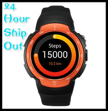 Zeblaze Blitz Android 5 1 MTK6580 Smart Watch 360x360 SmartWatch support 3G SIM Wifi Bluetooth Heart