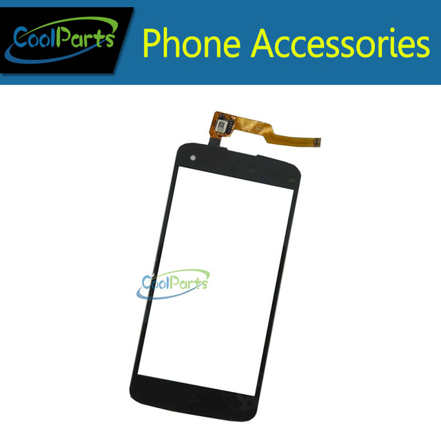 1PC/Lot Black Color For Philips i908 Touch Screen With Digitizer Panel Front Glass Lens Free Shipping