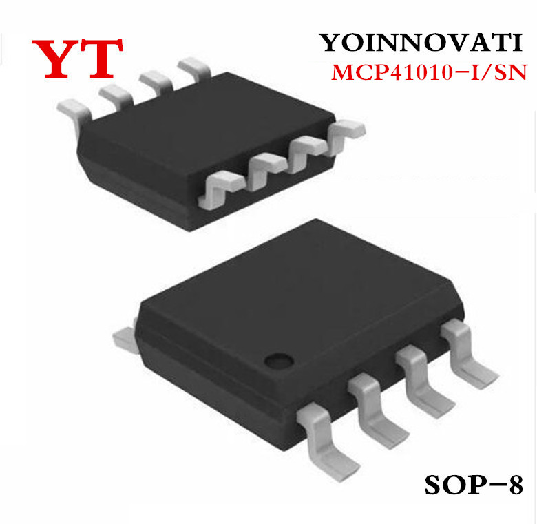 Free Shipping 10pcs/lot MCP41010-I/SN MCP41010 41010-I/SN  SOP8 IC Best Quality