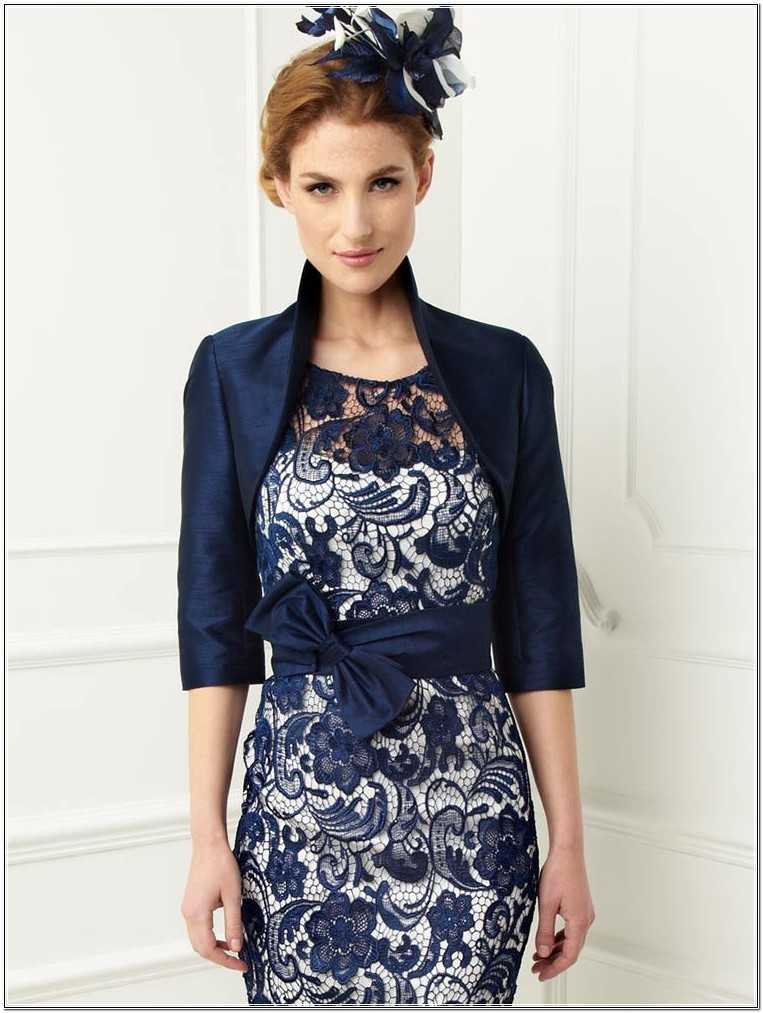 2014-Plus-Size-Mother-of-the-Bride-Dress-Tea-Length-John-Charles-Sheath-Scoop-Navy-Blue